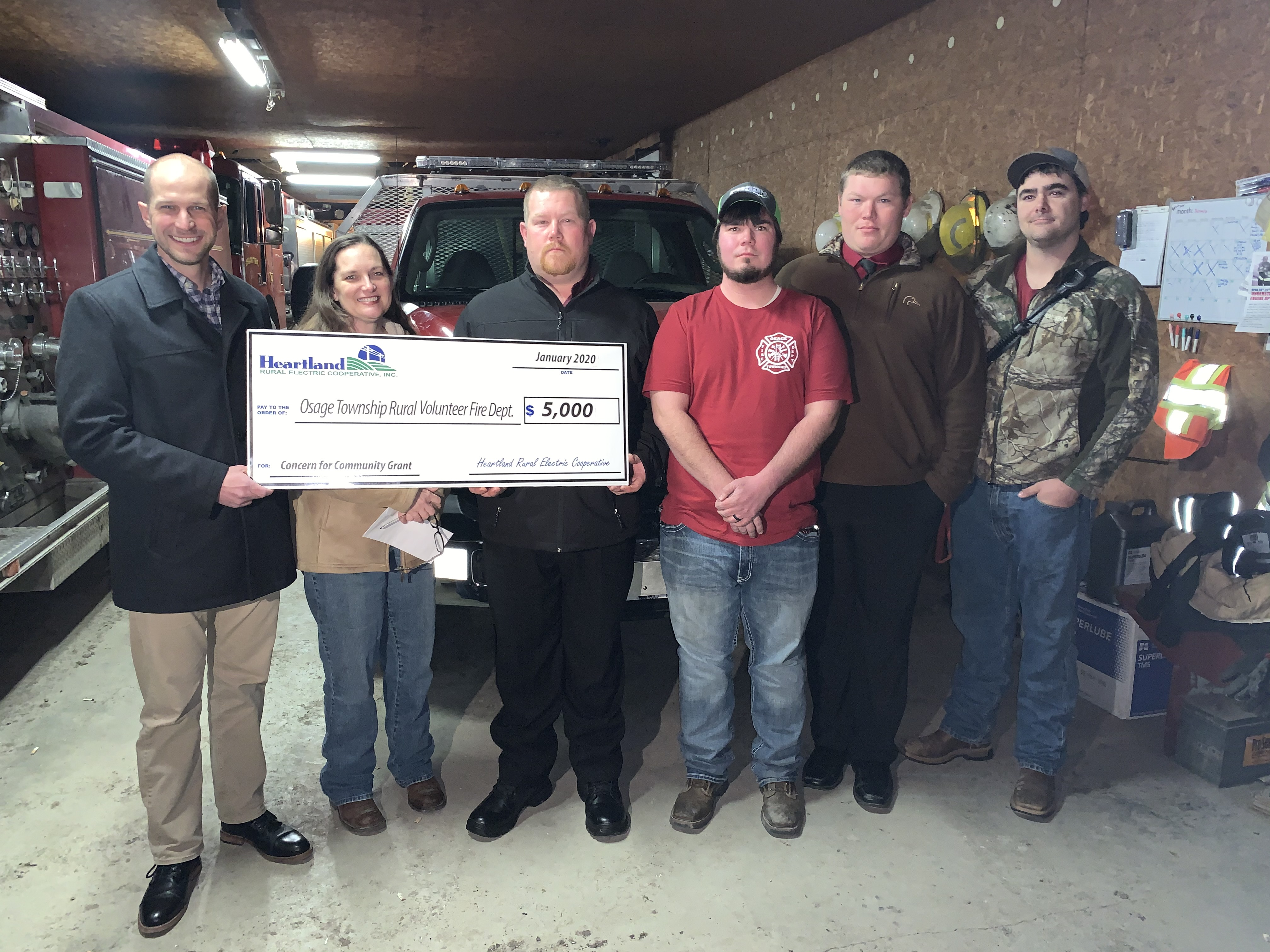 Awarding a Concern for Community Grant